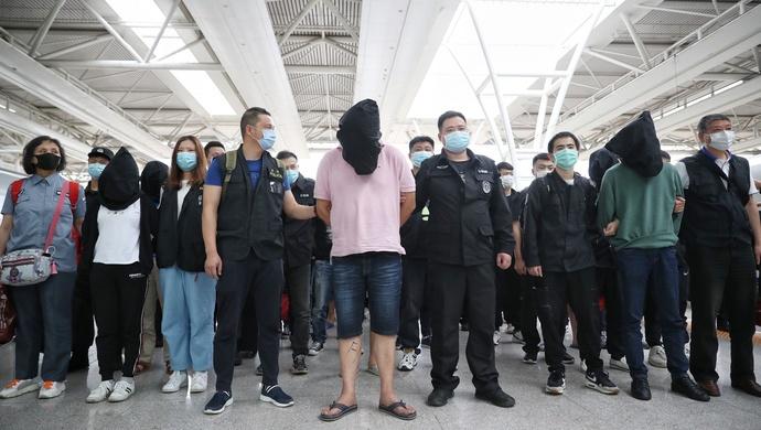 辐射全国的口罩销售诈骗团伙栽了,案值逾千万!72名嫌疑人已被上海警方抓获图片