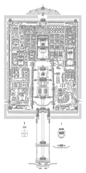 故宫平面图及详细介绍