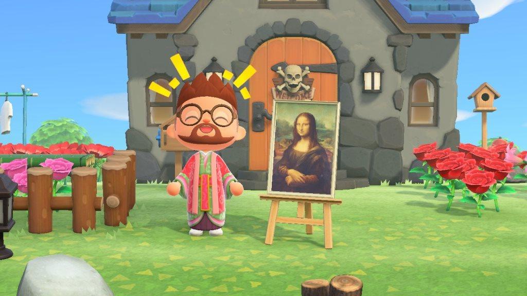 《动物森友会》数据挖掘发现 动物村民会送玩家艺术品
