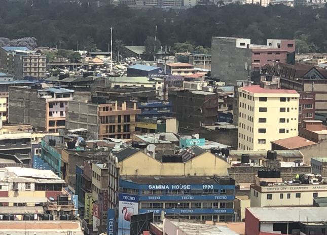 △肯尼亚首都内罗毕