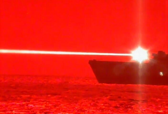 美军成功测试高能激光炮俄媒:遇到雾霾天就没用了
