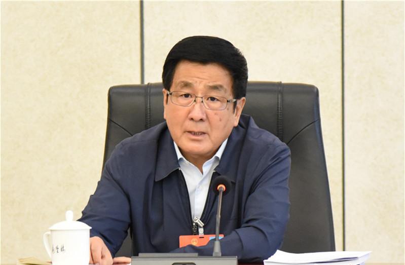 甘肃代表团分组继续审议民法典草案图片