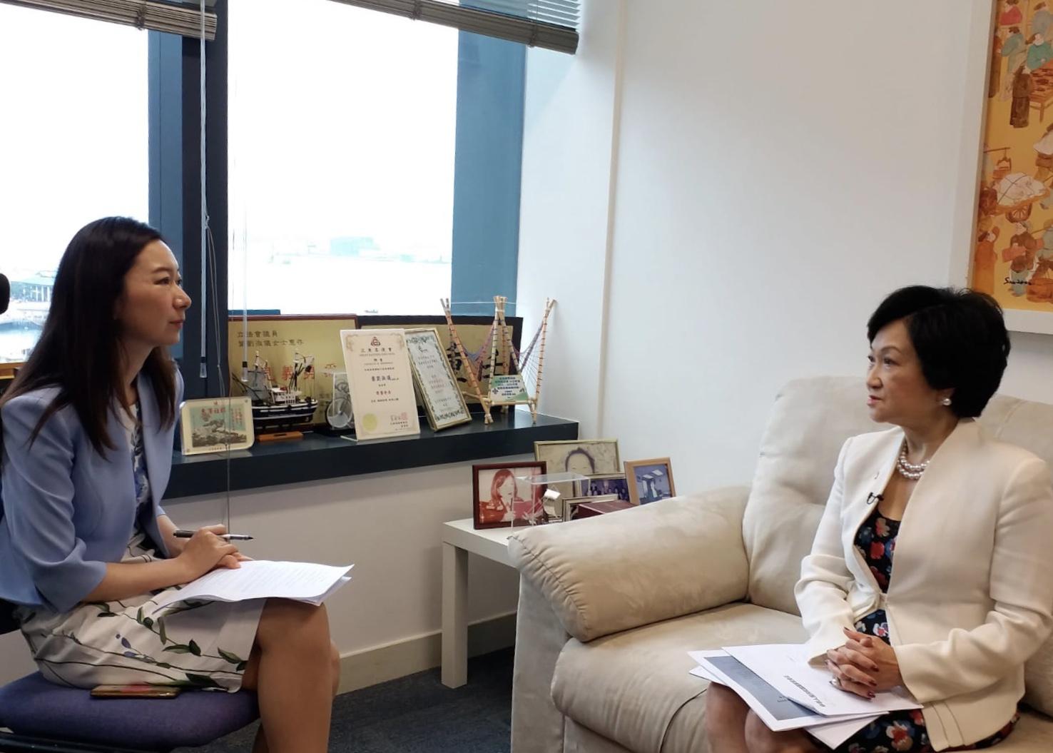香港前保安局局长叶刘淑仪:本地恐怖主义抬头 亟需国家安全法图片