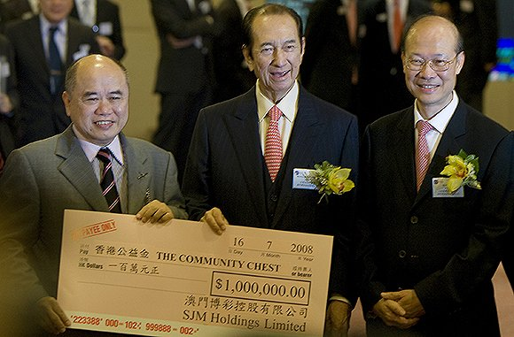 2008年7月16日,澳门博彩控股有限公司在香港上市。