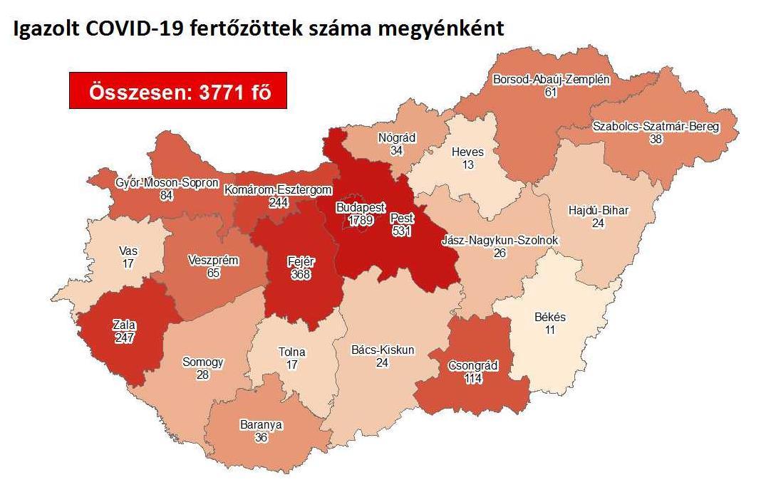 《【华宇娱乐首页】匈牙利新增15例新冠肺炎确诊病例 累计确诊3771例》