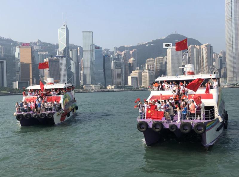 """发出极不寻常信号!香港处在十字路口,最高治安官与纪律部队""""一哥""""这么说"""