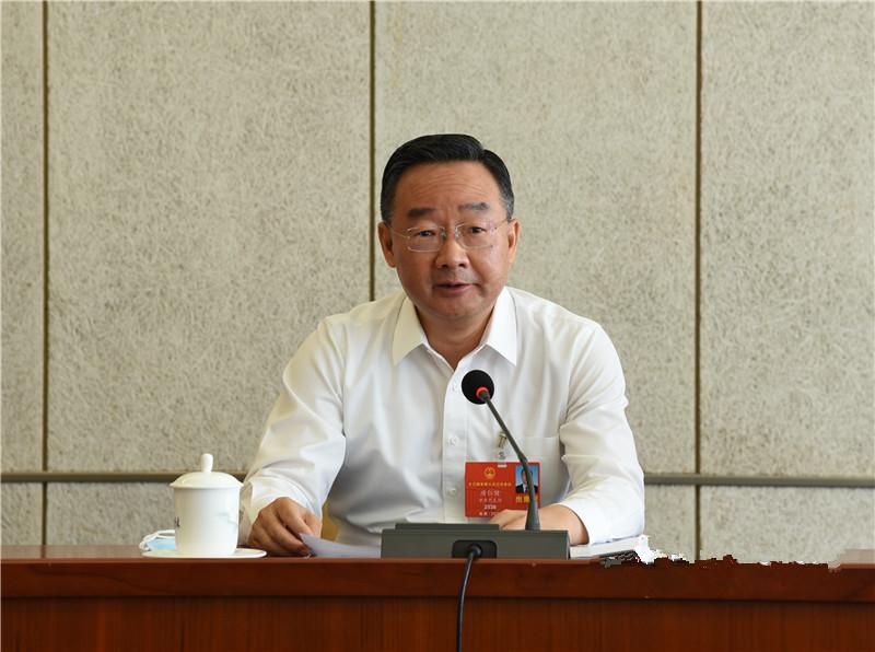 唐仁健在甘肃团审议全国人大常委