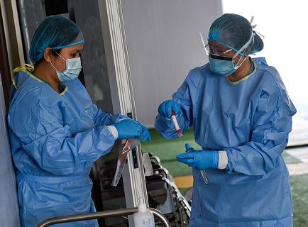 △阿联酋新冠病毒检测 来源:阿联酋媒体