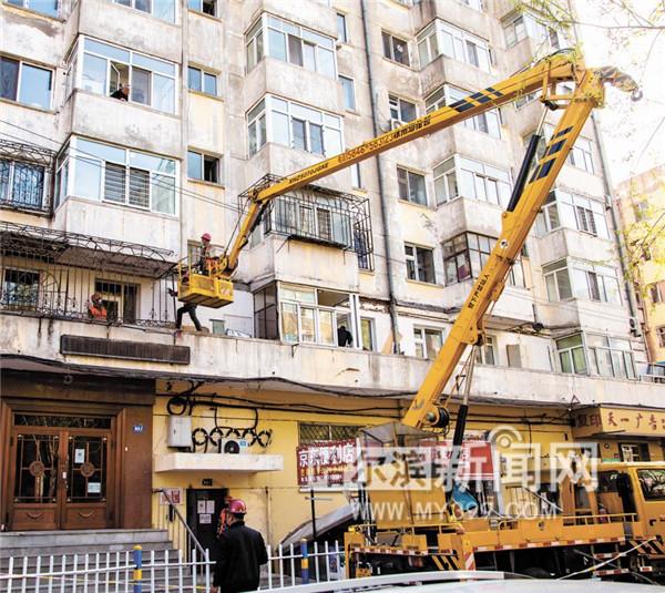 [天富]哈尔滨拆违先行完成老旧小区改天富造营造图片