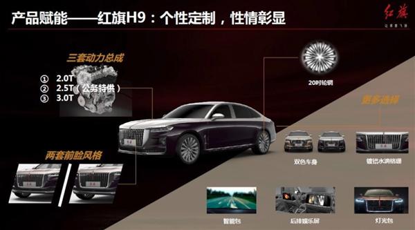 中国版劳斯莱斯:红旗H9定于7月9日上市 还有公务特供版