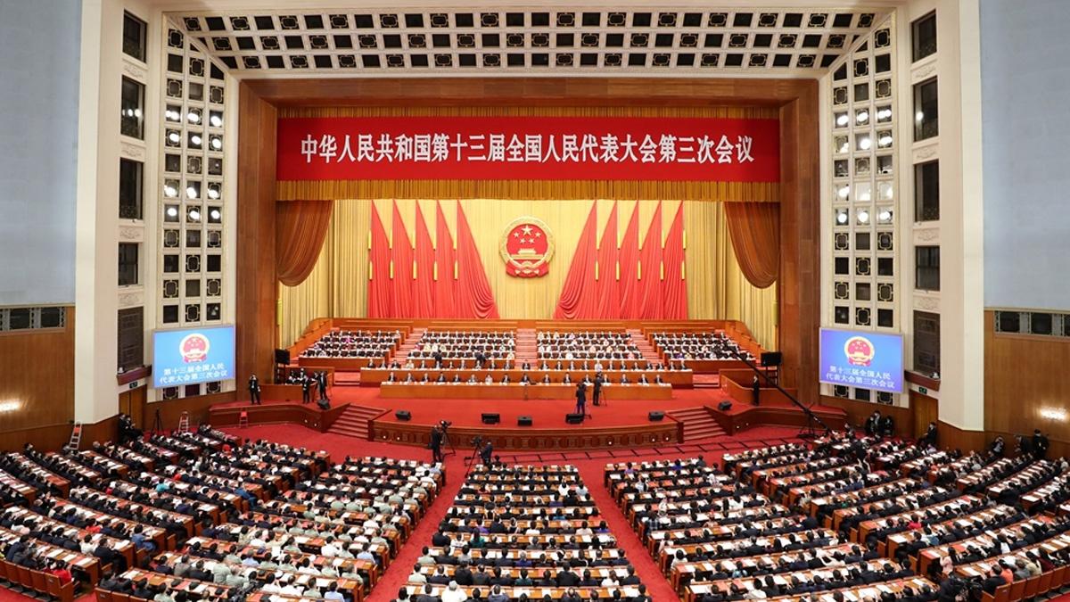 [赢咖3]十三届全国人大三次会议在京赢咖3闭幕图片