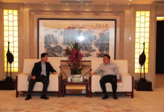 王彤宙董事长会见上海市副市长吴清一行