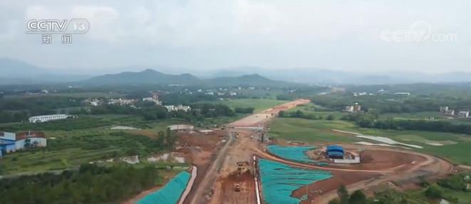 摩鑫代理:大广摩鑫代理高速扩容一阶段施工任务全图片