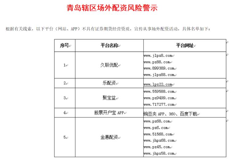 两天百家机构上黑名单 上海广东等证监局警示场外配资风险