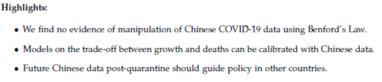 [摩天代理]英美学者推翻中国谎摩天代理报疫情数据图片