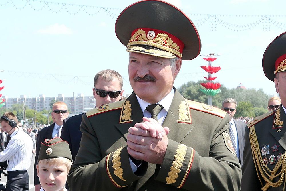 △白俄总统卢卡申科(图片来源:网络)