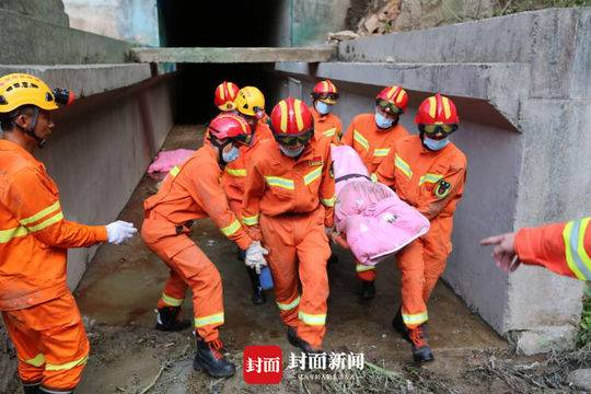 天富疑似爆炸泄天富洪洞内抬出3人其中2人遇难图片