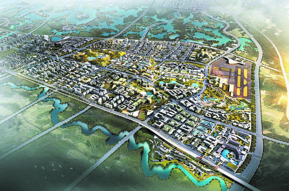 成都未来科技城全球征集起步区城市设计方案图片