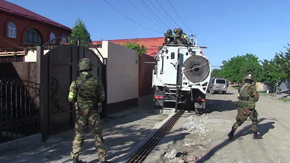 俄罗斯安全部门在印古什反恐行动