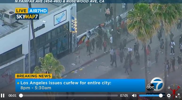 美国加州暴乱升级 国民警卫队被部署至洛杉矶