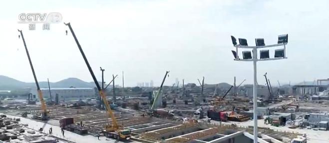 浙江台州:杭绍台铁路站房建设全面启动图片