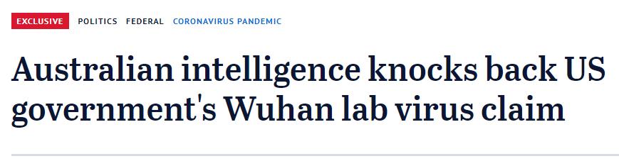 """蓬佩奥声称有""""大量证据"""" 被澳情报官员揭穿老底图片"""