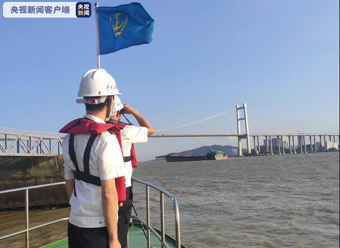摩天娱乐广东虎门大桥通航水域恢摩天娱乐复通航图片