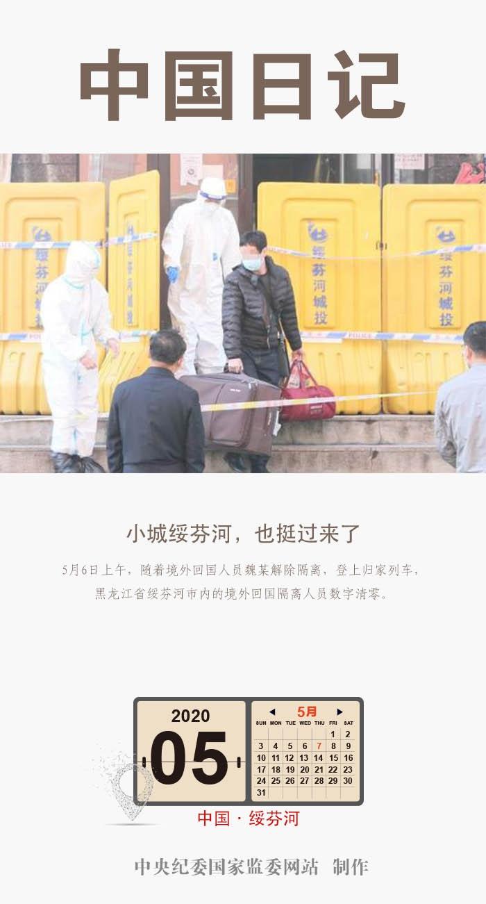中国日记·5月7日 | 小城绥芬河,也挺过来了图片