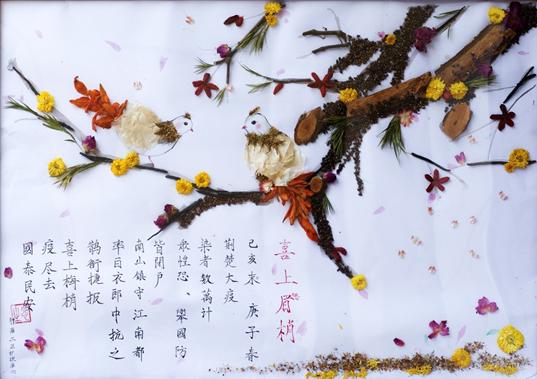 """【庆祝护士节】中西医结合医院举办""""本草印画""""活动图片"""