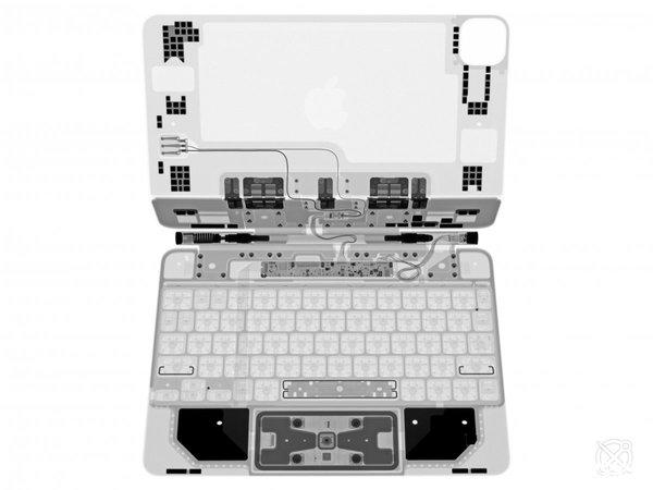 iFixit放出iPad Pro妙控键盘X光证件照