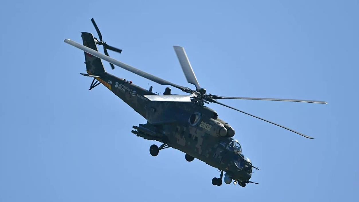 △图为米-35武装直升机