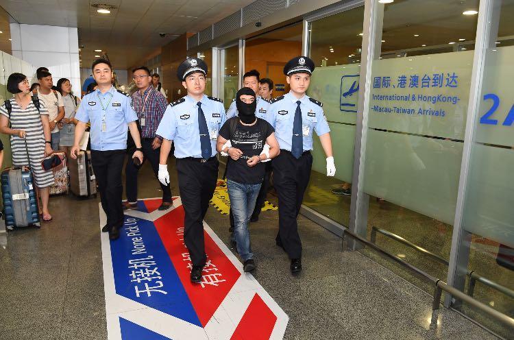 侬某被押回上海