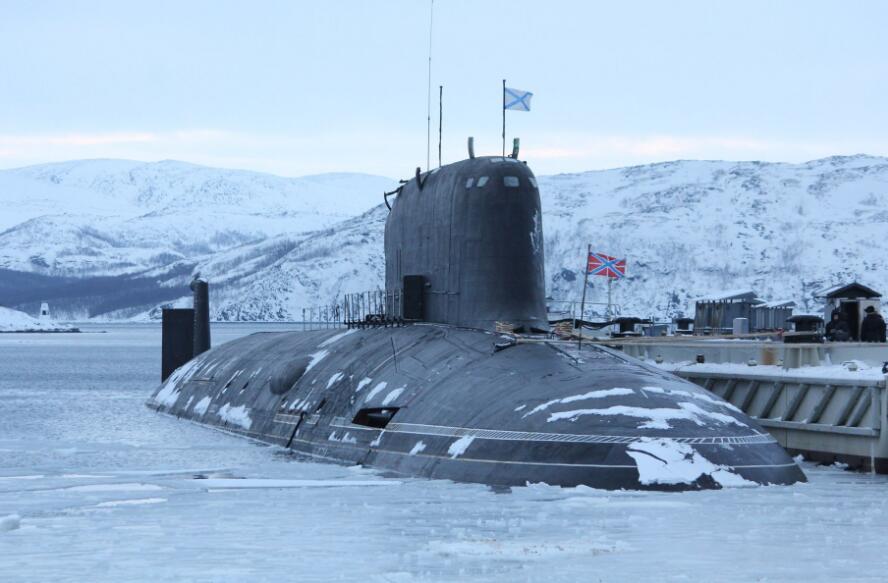 """俄罗斯855型核潜艇""""北德文斯克""""号"""