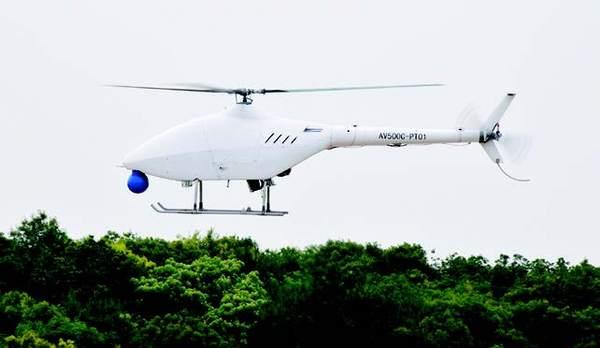 「摩天娱乐」高原型无人直升机摩天娱乐图片