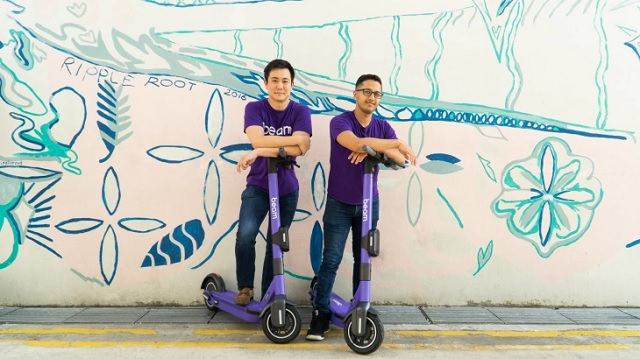 新加坡电动滑板车初创企业Beam获2600万美元融资