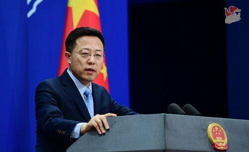 特朗普宣称调查中国公司在美上市 赵立坚回应图片