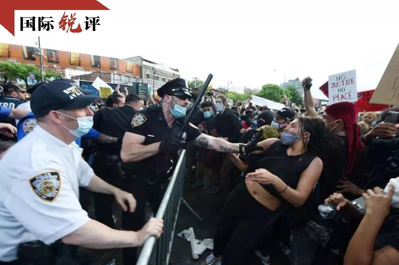 天富,际锐评对香港煽风点火的美国天富政客正在引火图片