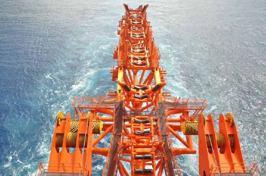 水深1542米!我国海底管线铺设再创新纪录图片