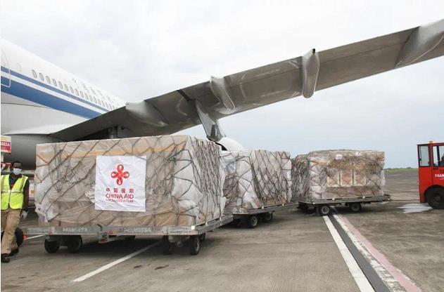 中国政府援赠赤道几内亚第二批抗疫物资交接仪式在马拉博举行图片