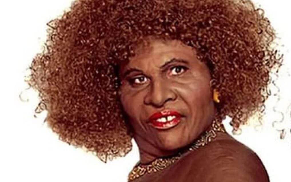 白人男演员大卫•威廉姆斯反串黑人女性角色 图源:美媒