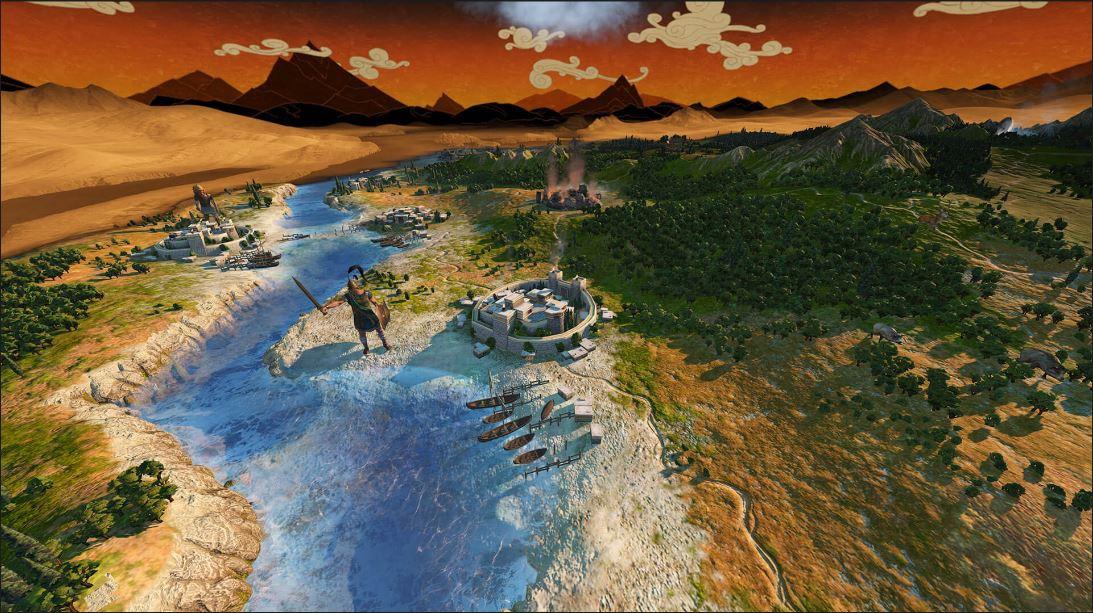 IGN游戏之夏:《全面战争传奇:特洛伊》6分钟实机演示