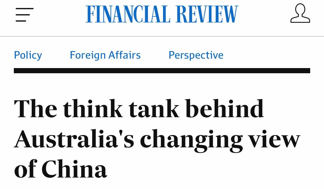 被外交部点名的澳机构为何热衷反华?背后金主不简单图片
