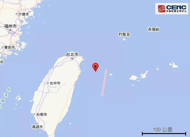 摩鑫测速:县海域发生46摩鑫测速级地震福建有震感图片