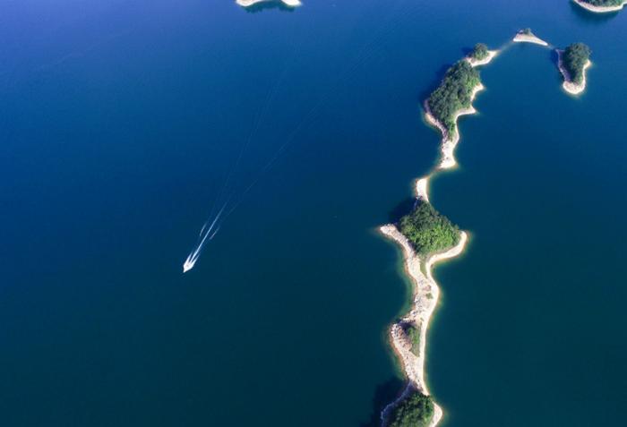 俯瞰淳安千岛湖 换个角度观秀水图片