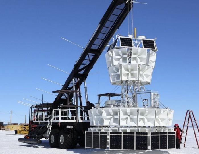 科学家提出南极中微子倒流之谜新解释不需要平行宇宙