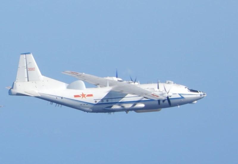 台军:解放军军机再次进入台湾西南空域图片