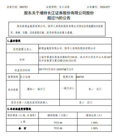 资本掠夺者刘益谦将其在长江证券的股份增加了数亿美元