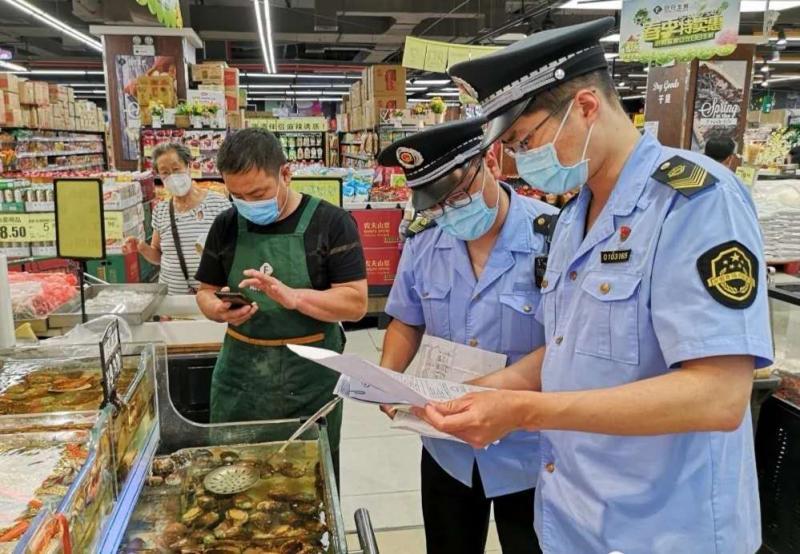 北京西城市场监管完成110件食用农产品核酸检测 均为阴性图片
