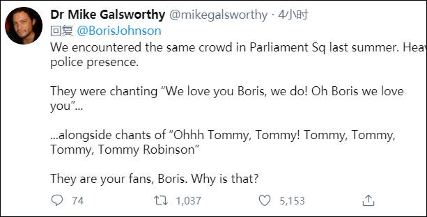 热评第一的英国网民截图