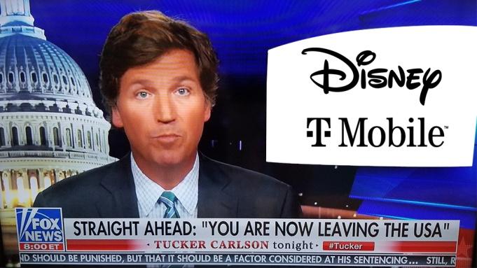 卡尔森失去迪士尼和T-mobile两大广告主